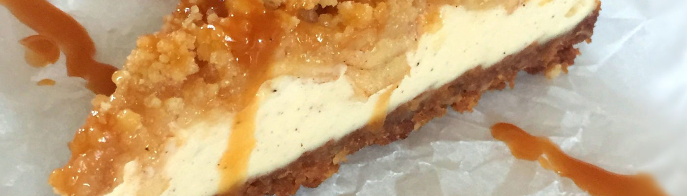American Apple Cheesecake