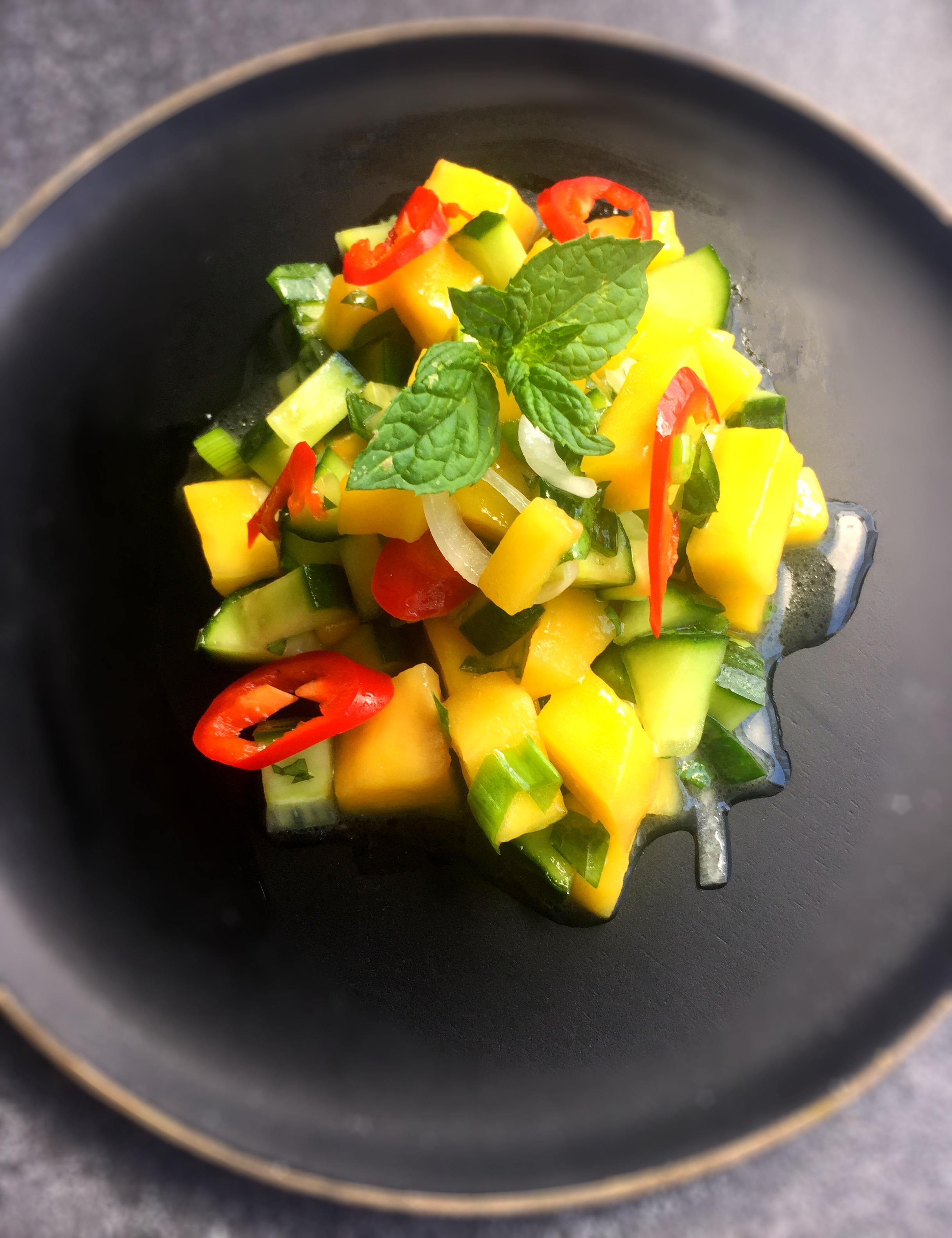 Gurken_Mango_Salat