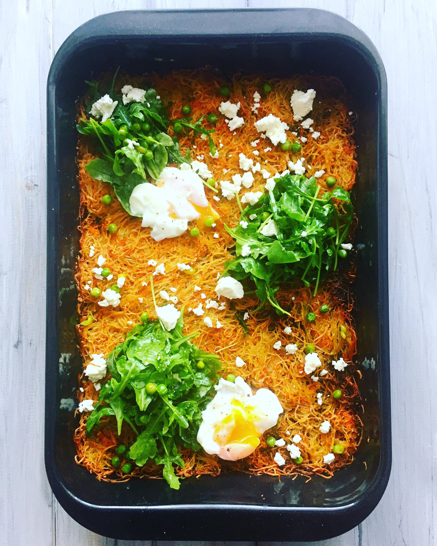 Kartoffel-Karotten-Rösti